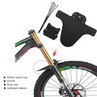 2stk Fully Schutzblech Black Fender Mudguard Radschutz Spritzschutz Fahrrad