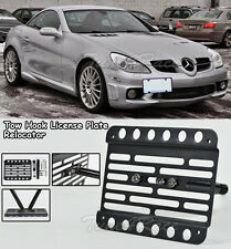 For 06-11 Mercedes-Benz R171 Front Tow Hook License Plate Bracket SLK-Class