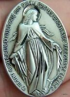 Sterling Silver Miraculous Medal Of Saint Virgin Mother
