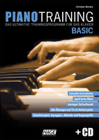 Piano Training Basic -Das ultimative Trainingsprogramm für das Klavier (mit CD)