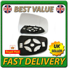 Right Driver Side Heated Electric Wing Mirror Glass for FORD FOCUS MK2 2008-2010