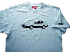SAAB 900 Turbo T16 S Aero Carlsson Ruby T-shirt Classic Retro 100% Cotton