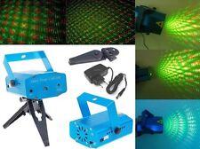 Mini proiettore laser effetti luce da discoteca dj