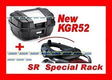 BMW R 1150 R 2001/2006 KOFFER BAULETTO KGR52 + CHASSIS HINTERE PLATTE SR683