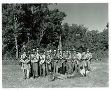 Antietam Lost Images Civil War Re-enactment Selenium Toned Battle Photo #1 |