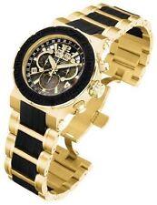 Vergoldete Invicta Armbanduhren für Herren