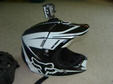 FOX V4 carbon fiber motocross motorcycle helmet W action CAMERA cam M MEDIUM MX