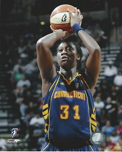 TINA CHARLES 8x10 WNBA LOGO LICENSED COLOR PHOTOGRAPH CT SUN / LIBERTY / UCONN