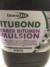 Bond It Black 25L Rubber Bitumen Emulsion Free Delivery