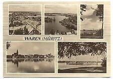 E 154 - Waren / Müritz, Mehrbild, 60er gelaufen
