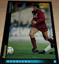 CARD GOLD 1993 REGGIANA ZANNONI CALCIO FOOTBALL SOCCER ALBUM