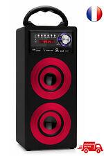 Beatfoxx Beachside BS-20BT Rouge Enceinte Bluetooth Portative