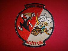 US A Troop 2nd Squadron 17th Cavalry Regiment ANNIHILATOR Vietnam War Patch