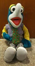 "Gonzo ~The Muppets ~ Plush Doll-Henson-Nanco 29"" Long Chili Pepper Tie Vest Pant"