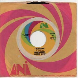 """STRAWBERRY ALARM CLOCK tomorrow*birds in my tree 1967 US UNI PSYCH 7"""" 45"""
