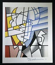"""Roy Lichtenstein, Wonderful Hand Signed Print """"Self Portrait"""", with COA."""