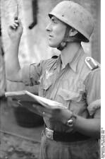German Army Soldier Italy 1943 World War 2 Reprint Photo 6x4 Inch