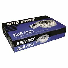 Paslode DUO-FAST PLASTIC COLLATED COIL NAILS 2.5x50mm 1800 Pcs Steel AUS Brand
