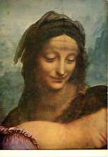 Alte Kunstpostkarte - Léonard de Vinci - Sainte Anne