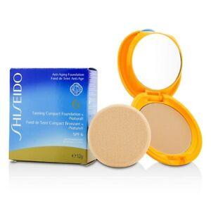 Shiseido Tanning Compact Foundation N SPF6 - Natural 12g Womens Make Up