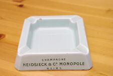 ceramic ashtray manufactured by PROCERAM MARSEILLE late 1980's.