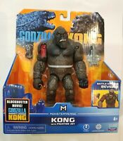 "New Godzilla VS Kong - KONG WITH FIGHTER JET -  6"" Figure MONSTERVERSE"