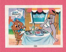 Ruff and Reddy 1971 Hanna Barbera Cartoon Spanish Card #339