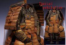 Japan Antique Edo gold gotaiten Yoroi set haramaki-do armor katana samurai Busho