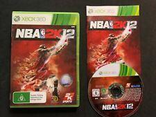 NBA 2K12 Game for Xbox 360 - FREE POSTAGE