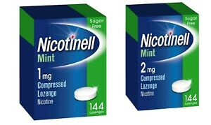 Nicotinell 1mg 2mg mint lozenges regular strength 144 pieces