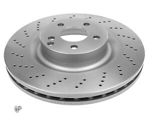 MEYLE PD Brake Rotor Front Pair 083 521 0019/PD fits Mercedes-Benz E-Class E ...