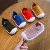 Toddler Infant Kids Baby Girls Boys  Casual Candy Color Mesh Sport Running Shoes