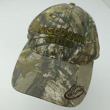 Discount Tire Team Realtree Dri Duck Adjustable Adult Baseball Ball Cap Hat