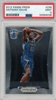2012-13 Panini Prizm Anthony Davis #236 Rookie Card RC PSA 9 Mint
