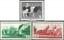 DDR 628-630 (kompl.Ausgabe) gestempelt 1958 Landwirtschaft EUR 2,20