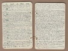 More details for 5 hand written diaries by mabel smith ridout of cambridge ex missionary 1946-50