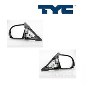 2PCS TYC Door Mirror Fit Chevy Blazer, S10/ GMC Jimmy, Sonoma/ Olds Bravada