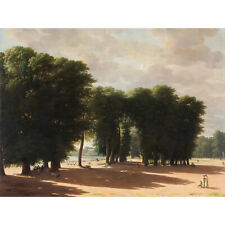 Kleijn Entrance To Park Saint Cloud Paris Wall Art Canvas Print 18X24 In