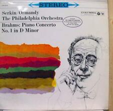 Serkin Ormandy - Brahms Piano No. 1 LP VG+ OS 204 Vinyl Record w/Insert