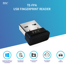 Security Mini USB Fingerprint Reader for Windows 10 Hello 360° Touch TE-FPA