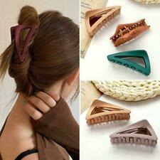 Women Hair Claw Clamps Large Hair Clips Matte Shark Fashion Accessories WZ