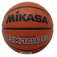 Mikasa Sports BX1006 Elementary Rubber Basketball, Size 4
