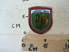 STICKER,DECAL REGIMENT LIMBURGSE JAGERS ARMY ?