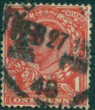 Great Britain Sg-349/50, Scott # 158B, Used, Fine-Very Fine, Great Price!
