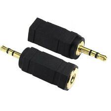 3.5mm (Female) Jack to 2.5mm (Male) Jack Plug Audio Converter