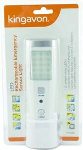 Rechargeable Sensor Light LED Emergency Detector Night Position Lamp Torch
