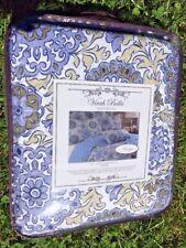 BRAND NEW Never Used VIRAH BELLA Croscill Paisley Full Queen Comforter & Shams