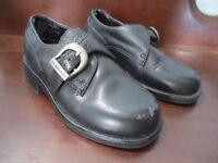 G. H. Bass & Co. Toddler Boy's Size 9 Black Oxford Buckling Dress Shoes