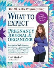 The What to Expect Pregnancy Journal & Organizer(Diary Book) by Heidi Murkoff