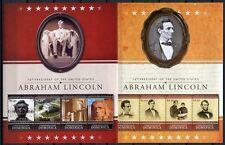 DOMINICA 2010 A. Lincoln Politik US-Präsident Geschichte 4100-4107 ** MNH